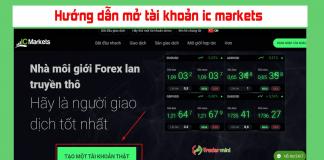 Hướng dẫn cách đăng ký mở tài khoản sàn ic markets
