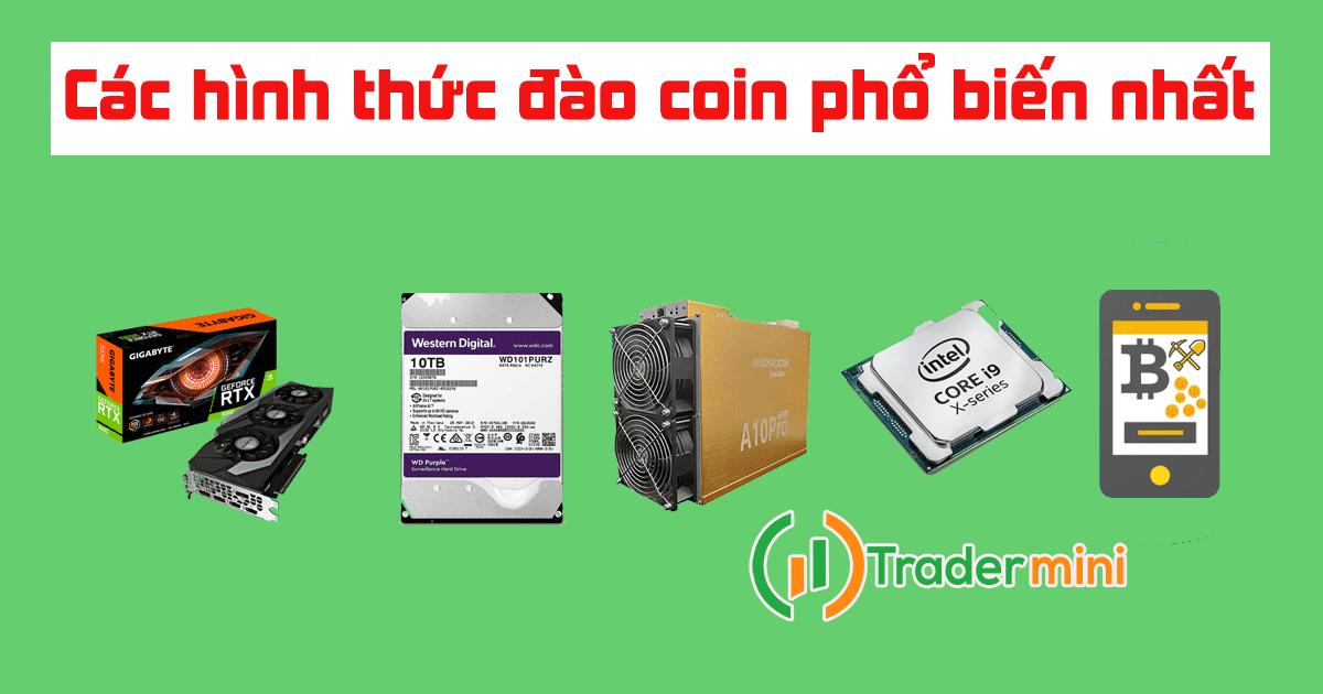 Đào coin tiền ảo bitcoin